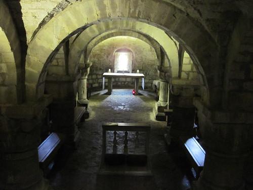St Marys Lastingham, Crypt