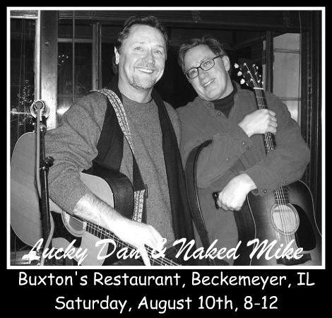 Lucky Dan & Naked Mike 8-10-13