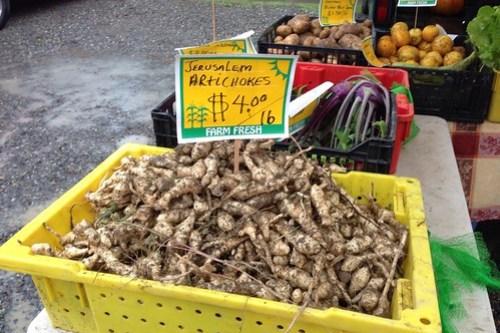 Jerusalem Artichokes Redmond Farmers Market