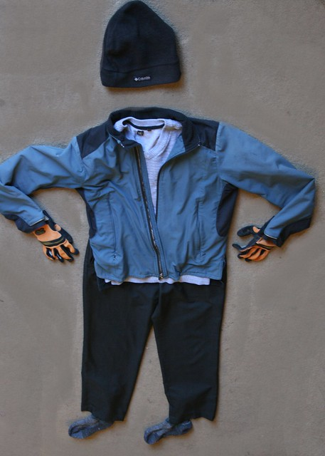 cool weather cycling garb