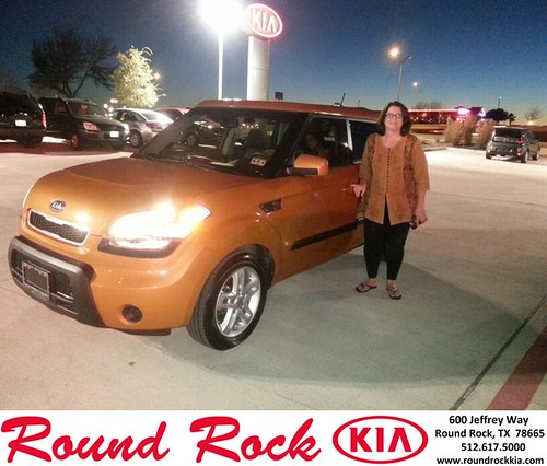 Thank you to Cynthia Goode on your new 2011 #Kia #Soul from Rudy Armendariz and everyone at Round Rock Kia! #NewCarSmell by RoundRockKia