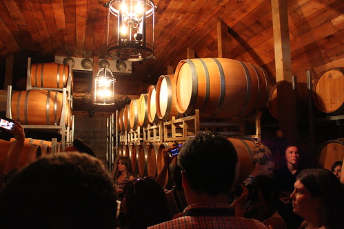 Barrel cellar at Chaberton