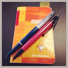 #dailyArsenal 1949 @ParkerPens 51 #fountainpen, @MonteVerdePens One Touch #ballpoint/#stylus