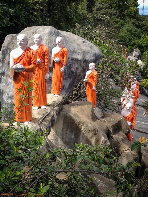 Golden Rock Temple - Dambulla