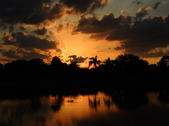 Sunset on Golden Pond 2