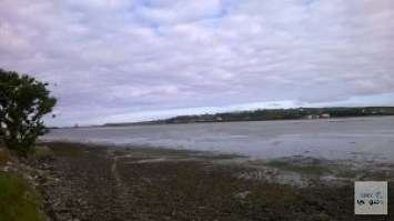 Barrow harbour, looking to Tralee Golf Club