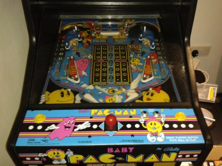 Baby Pacman Playfield