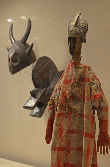 African Masks and Puppet