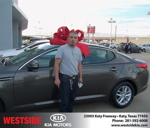 Westside Kia would like to wish a Happy Birthday to Jose Lopez! by Westside KIA