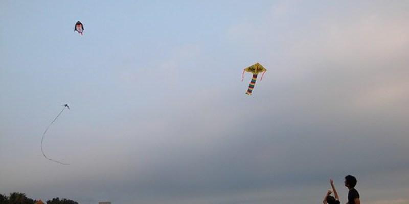九歲的生日願望:我想放風箏(9 ys)
