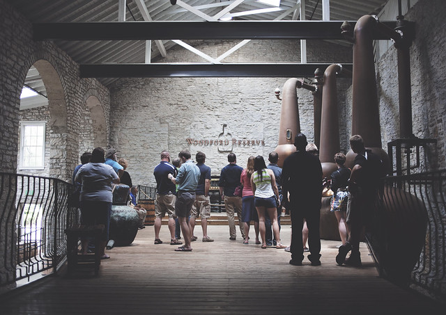bourbonmaking, woodford reserve, versailles, ky