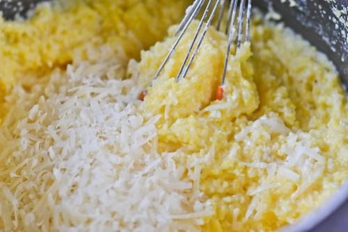 Baked Parmesan Polenta Fries-3