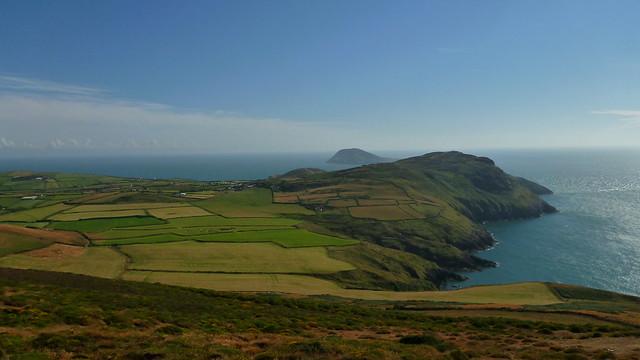 Lleyn Peninsula, Mynydd Mawr, Porth Llanllawen, Welsh Coastal Path, Mynydd Anelog