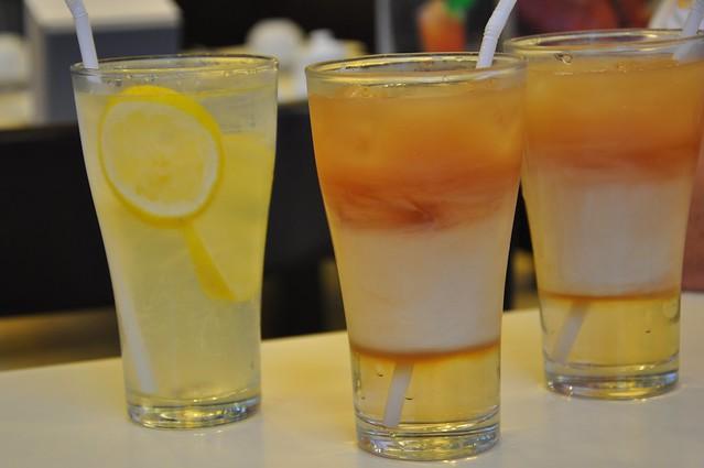 HongKong Lemonade and Milk Tea