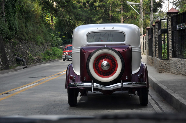 On a Baguio Road