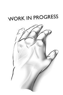 WIP - my left hand 2013
