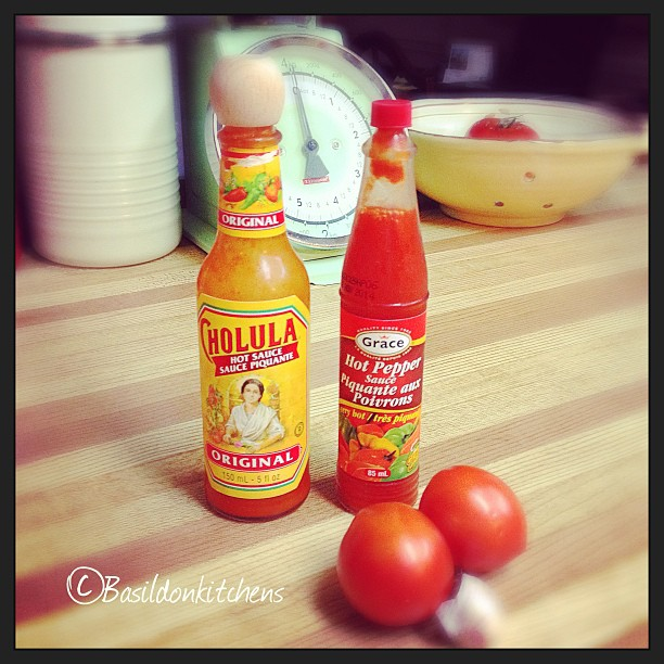 Aug 8 - zingy {we love spicy foods; these sauces are pretty zingy} #photoaday #zingy #chilula #habanero #cooking