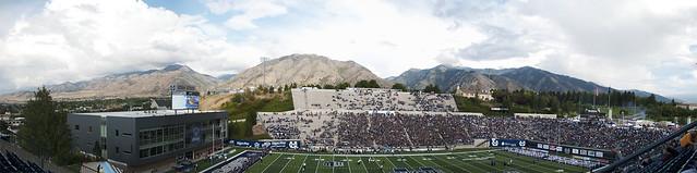 USU Romney Stadium Panorama