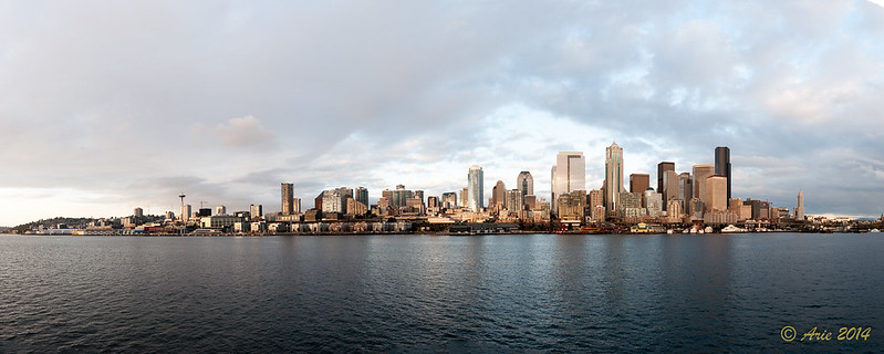 Seattle Skyline from Puget Sound