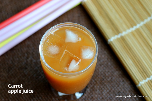 Apple-carrot-juice