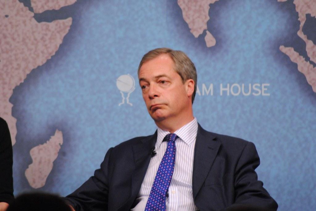 Nigel Farage, Leader, UK Independence Party (UKIP)