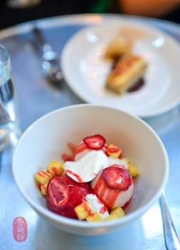 Strawberry Ice Cream Sundae