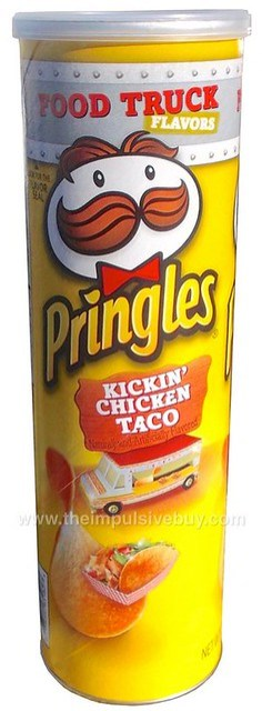Review Pringles Food Truck Flavors Kickin Chicken Taco The