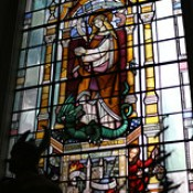 Window dedicated to St Margaret, New Fish Street, in St Magnus the Martyr, Lower Thames Street, City of London