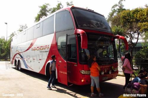 Tas Choapa Internacional - Santiago de Chile - Marcopolo Paradiso 1550 LD / Mercedes Benz (BDBG11) Nº 2856