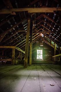 Gilreath Mill Attic