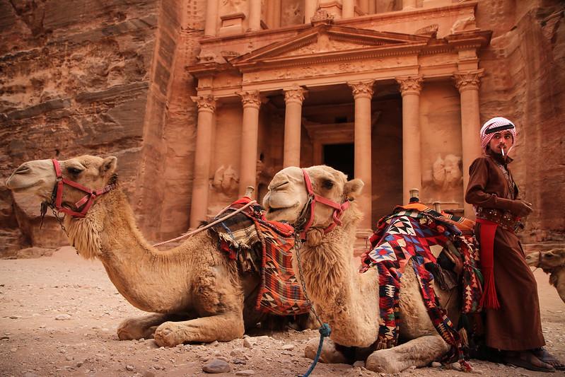 Al-Khazneh Treasury, Petra, Jordan