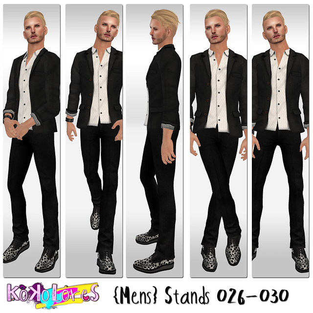 [KoKoLoReS]{Mens}Stands 026-030