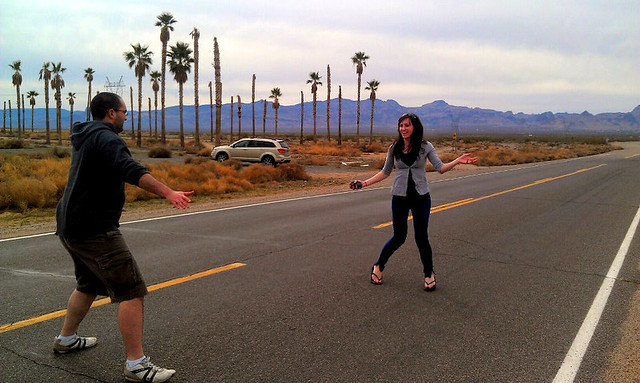 USA highway dancing