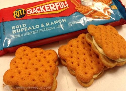 Nabisco Ritz Crackerfuls Bold Buffalo & Ranch