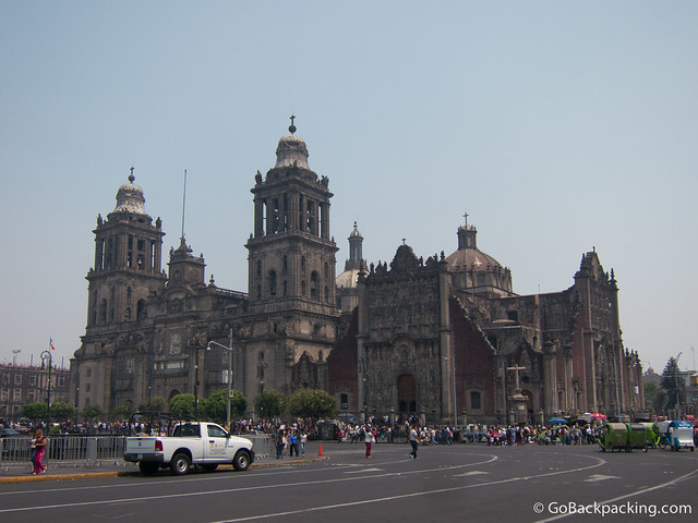 The Cathedral Metropolitana is the largest church in the Americas