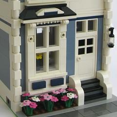 Sand Blue Townhouse