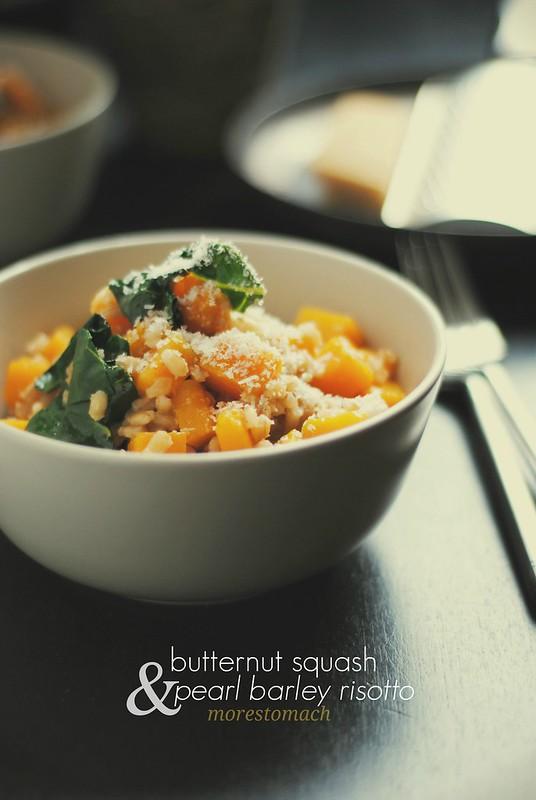 Butternut Squash & Pearl Barley Risotto