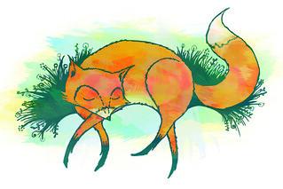 foxwatercolor