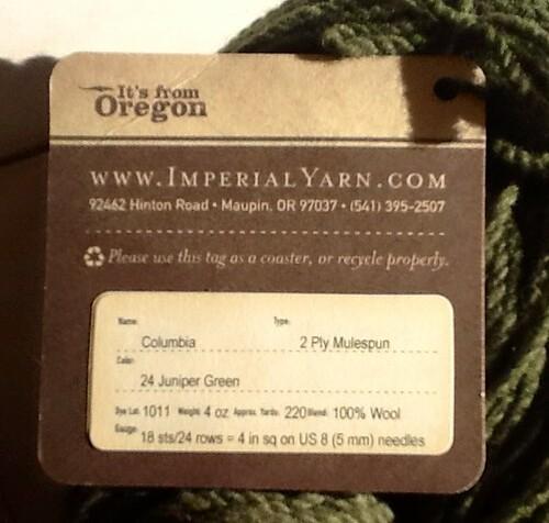 Imperial wool tag