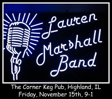 Lauren Marshall Band 11-15-13
