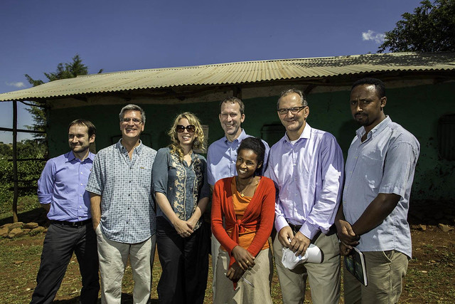 Group Photo: Joint visit of UNICEF and DFTAD