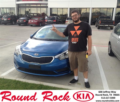 Happy Birthday to Brandon Niemczyk from Bobby Nestler and everyone at Round Rock Kia! #BDay by RoundRockKia