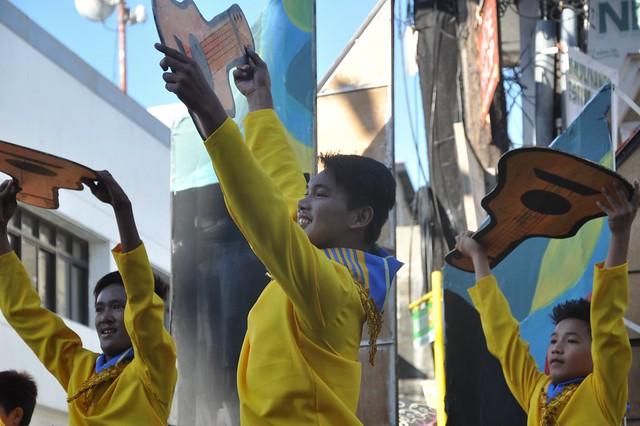 Pamulinawen Festival 2014 Street Pageantry