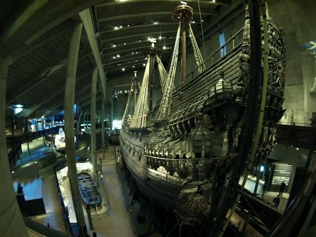 Vasa visto por proa y babor buque de guerra Vasa, viaje a Estocolmo 1628 - 14060573072 10cd785d7b z - buque de guerra Vasa, viaje a Estocolmo 1628