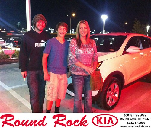 Thank you to Karen Sparks on your new 2013 #Kia #Sportage from Amir Mahboubi and everyone at Round Rock Kia! #NewCar! by RoundRockKia
