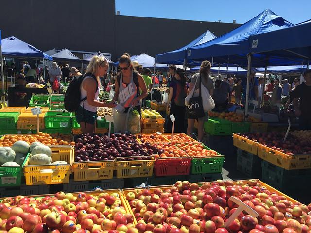 Vegetable Market, Wellington
