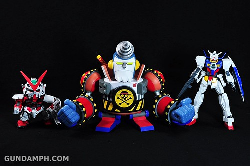 Banpresto One Piece WCF Mega Franky Shogun Review (28)