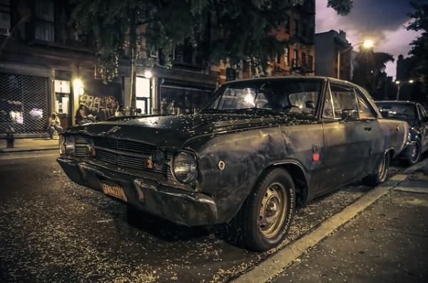 222/365 Dodge Dart GTS at Night