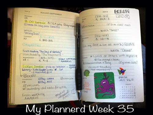 My Plannerd Week 35