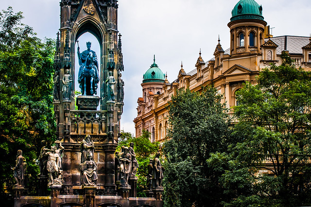 Kranner's Fountain. Prague